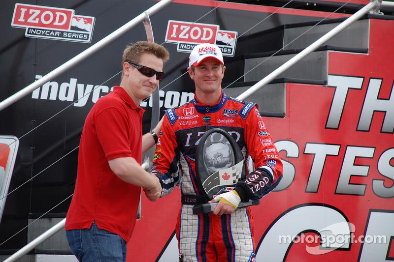 Podium: 3de Ryan Hunter-Reay, Andretti Autosport