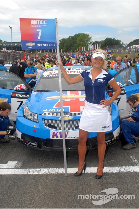 Rob Huff's gridgirl