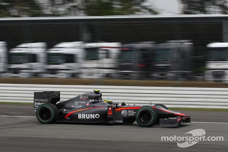 2010: Bruno Senna, Hispania Racing Team F110 (no llevaron aleta)