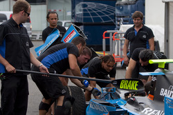 Ocean Racing Technology pracice pit stops