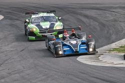 #52 PR1 Mathiasen Motorsports Oreca FLM09: Alex Figge, Tom Papadopoulos, #75 Jaguar RSR Jaguar XKRS: Ryan Dalziel, Marc Goossens