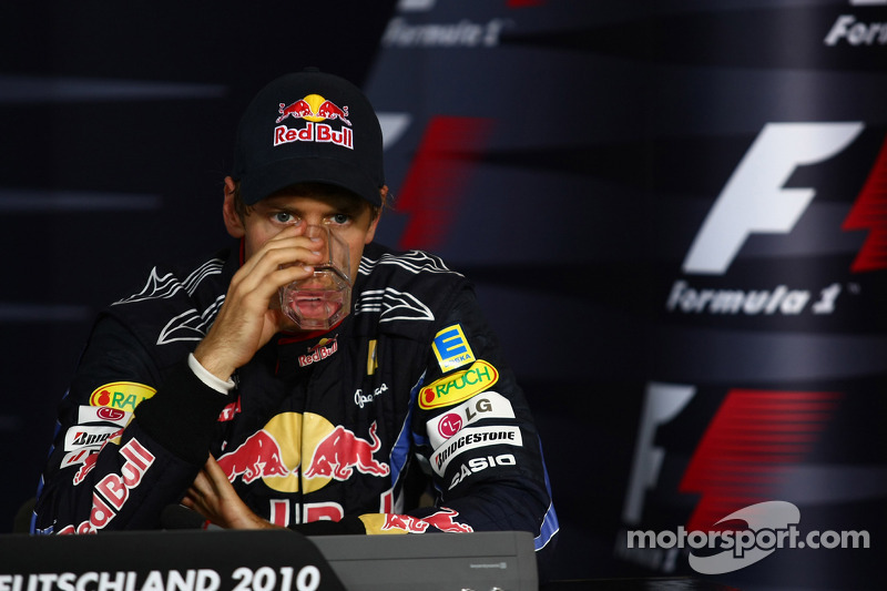Persconferentie: 3de Sebastian Vettel, Red Bull Racing