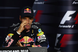 Press conference: third place Sebastian Vettel, Red Bull Racing