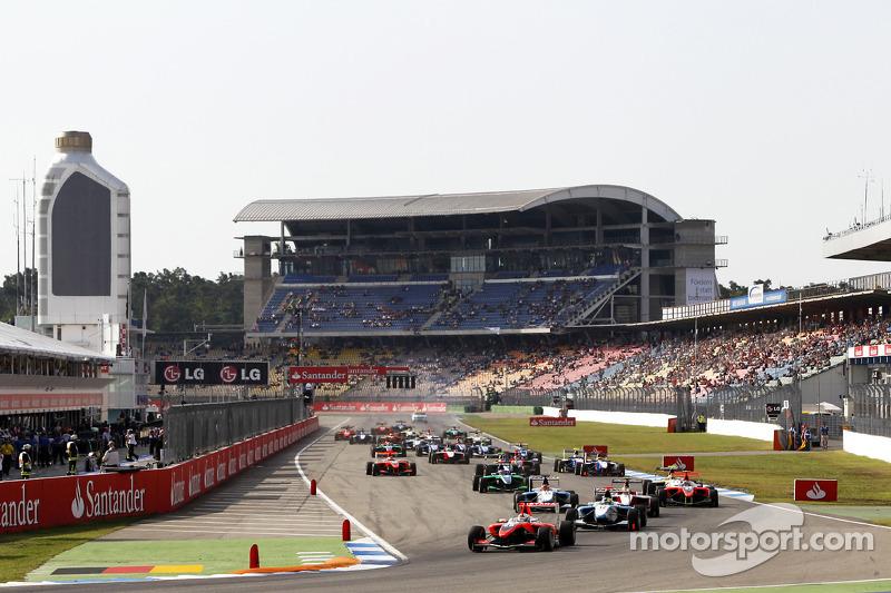 Daniel Juncadella rijdt voor Felipe Guimaraes