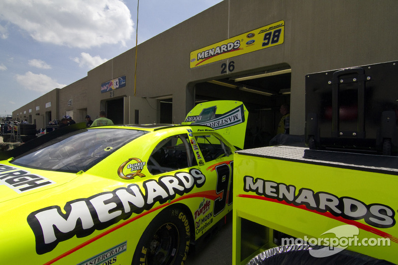 Auto van Paul Menard, Richard Petty Motorsports Ford