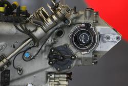 Hispania Racing F1 Team gear box detail