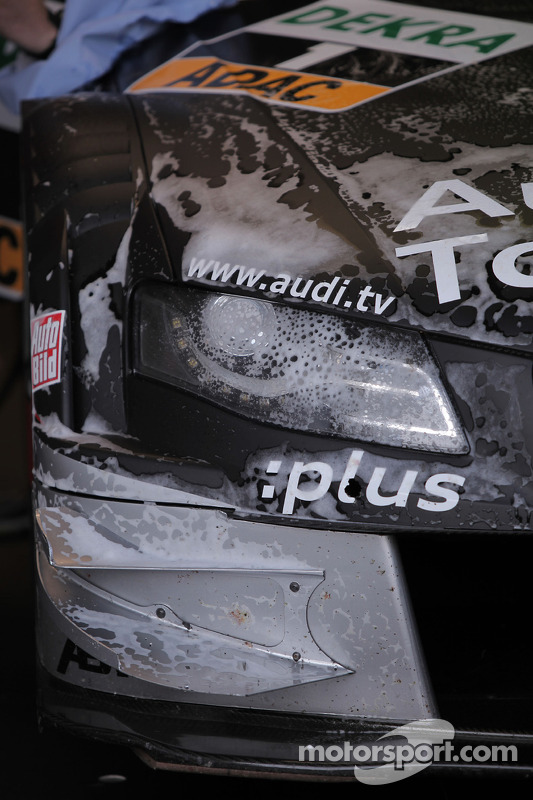 De wagen van Timo Scheider, Audi Sport Team Abt Audi A4 DTM