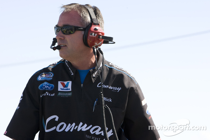 Rick Viers, crew chief No. 16 Con-Way Freight Ford