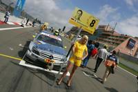 Pitspoes van Ralf Schumacher, Team HWA AMG Mercedes C-Klasse