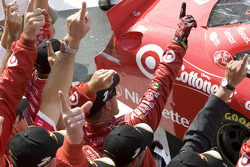 Victory lane: Earnhardt Ganassi Racing Chevrolet team members celebrate