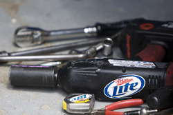Tools for the car of Kurt Busch, Penske Racing Dodge