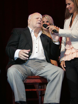 Bruton Smith, President and CEO SMI inc, and Jamie Little