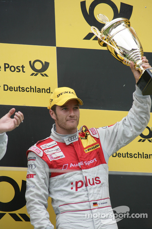 Podium: 3de Timo Scheider, Audi Sport Team Abt Audi A4 DTM