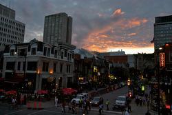 Street scene in Montréal