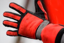 Handschoen van mecanicien