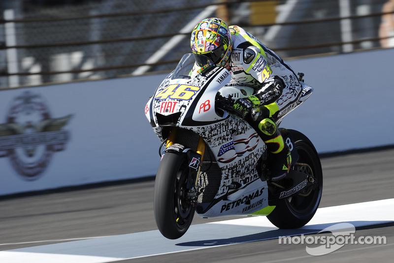 2010 - Yamaha (MotoGP) - Laguna Seca e Indianápolis
