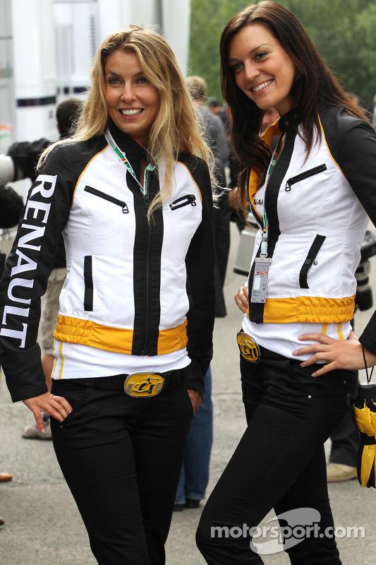 Mooie Renault meiden