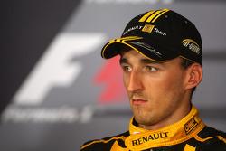 Conférence de presse d'après-course : Robert Kubica, Renault F1 Team, 3ème