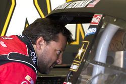 Tony Stewart, Stewart-Haas Racing Chevrolet met Ryan Newman, Stewart-Haas Racing Chevrolet