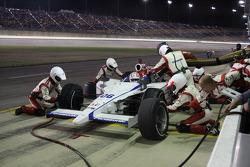 Pit stop for Hideki Mutoh, Newman/Haas/Lanigan Racing