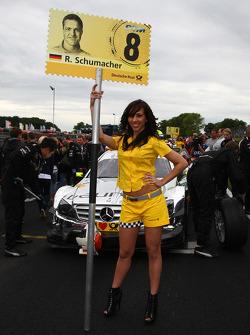 Ralf Schumacher, Team HWA AMG Mercedes C-Klasse gridgirl