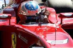 Fernando Alonso, Scuderia Ferrari in pole position