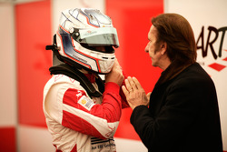 Pedro Nunes with Emerson Fittipaldi