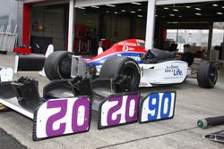 Newman/Haas/Lanigan Racing garage area