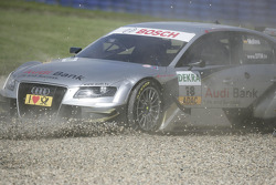 Miguel Molina, Audi Sport Rookie Team Abt, Audi A4 DTM out of race