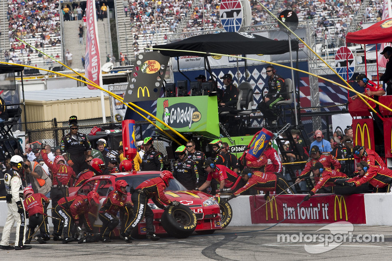 Pitstop Jamie McMurray, Earnhardt Ganassi Racing Chevrolet