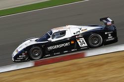 #34 Triple H Team Hegersport Maserati MC12: Alessandro Pier Guidi, Bert Longin