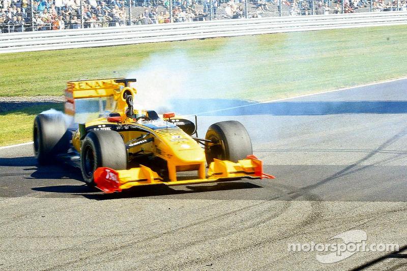 Démonstration d'une Renault F1