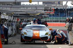 #99 Gulf Team First Lamborghini LP560: Fabien Giroix, Roald Goethe