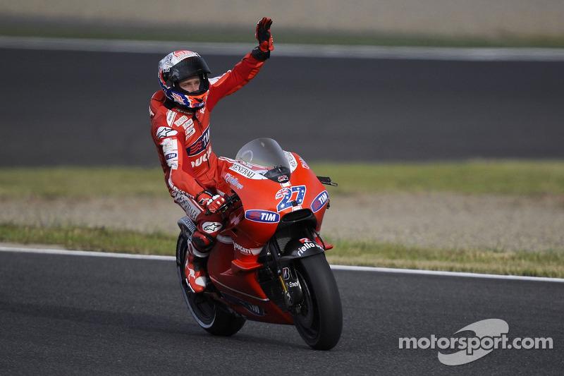 Pemenang 2010, Casey Stoner, Ducati Marlboro Team