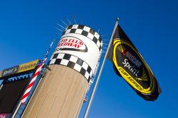 California Speedway signage