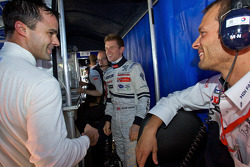 Pedro Lamy, Anthony Davidson and Alexander Wurz