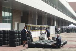 Williams F1 Team, Bridgestone banden