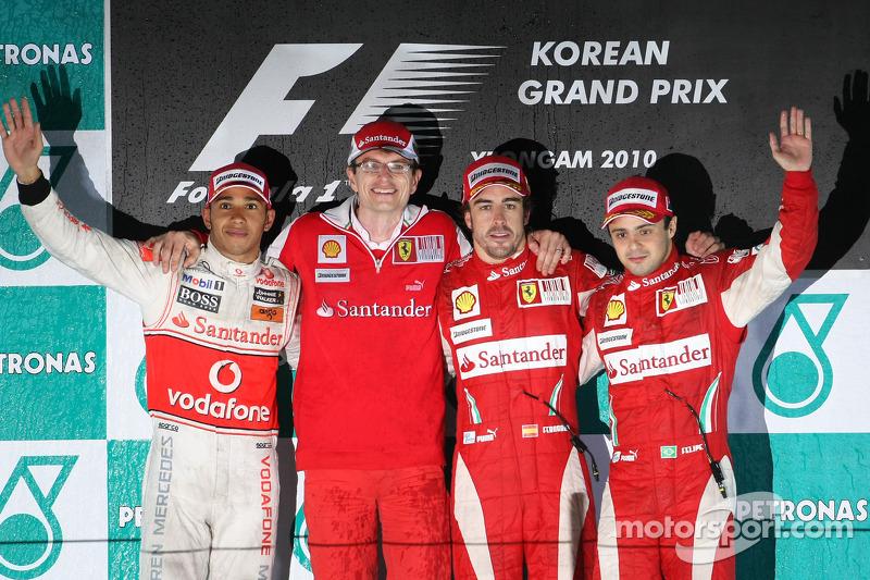 35-Gran Premio de Corea 2010 (2º), McLaren
