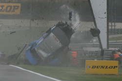 Crash von Alexandre Prémat, Audi Sport Team Phoenix, Audi A4 DTM