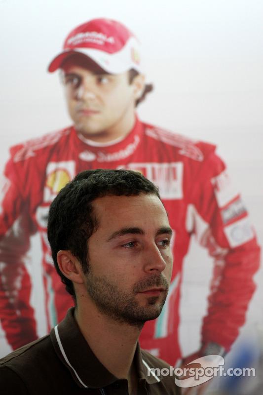 Nicolas Todt, manager Felipe Massa, Scuderia Ferrari