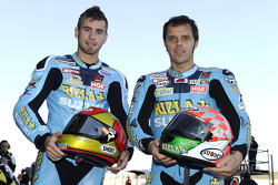 Alvaro Bautista, Rizla Suzuki MotoGP en Loris Capirossi, Rizla Suzuki MotoGP