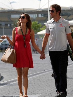 Jessica Michibata girlfriend of Jenson Button, Jenson Button, McLaren Mercedes