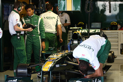 Fairuz Fauzy, testcoureur, Lotus F1 Team