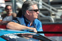 Rodger Brogdon aboard his Attitude Apparel Pontiac GXP