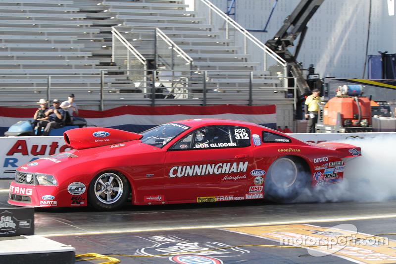 Bob Glidden Doing A Burnout In His Cunningham Motorsports