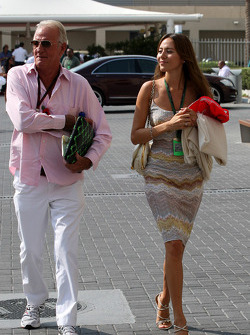 John Button, Jessica Michibata girlfriend of Jenson Button