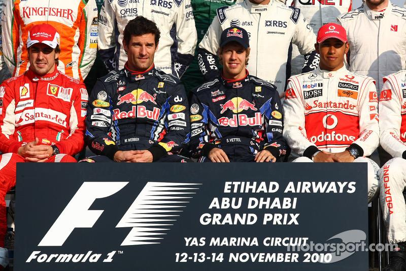 Abu Dhabi 2010: Titelkandidat beim Saisonfinale