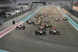 Старт гонки: Себастьян Феттель, Red Bull Racing