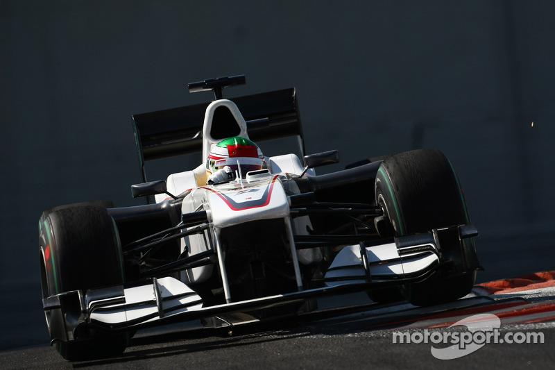Ноябрь 2010: Серхио Перес. Тесты в Абу-Даби с Sauber
