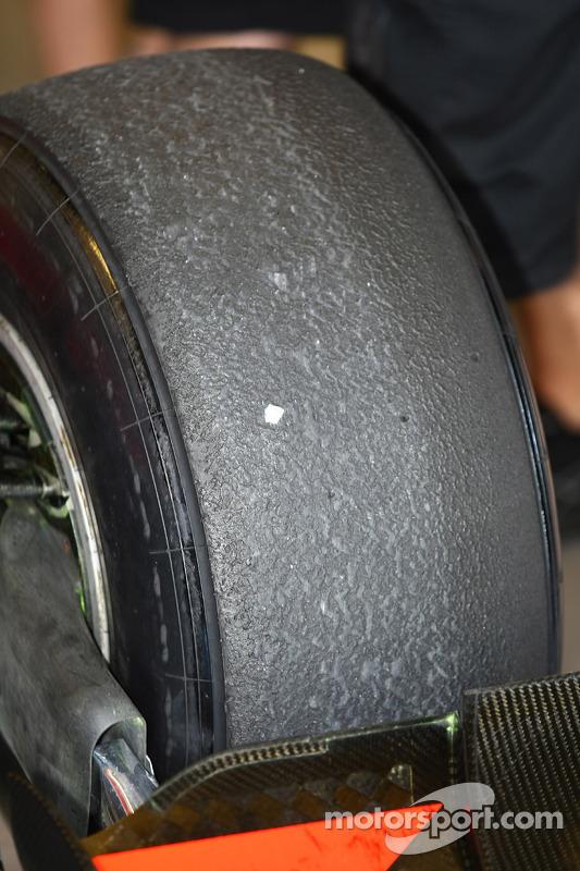 Bandenslijtage Pirelli